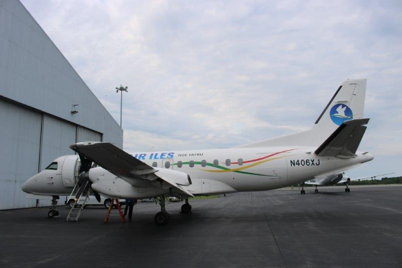 Saab 340B at C+L Aviation